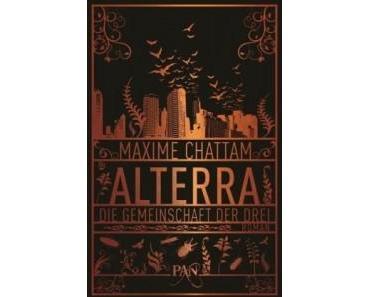 [Neuheiten] Neue Cover für die Alterra Reihe von Maxime Chattam