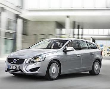 56.900 Euro für den neuen Volvo V60 Plug-in-Hybrid