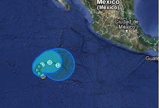 Tropischer Sturm ALETTA vor Mexiko ist schon am Ende