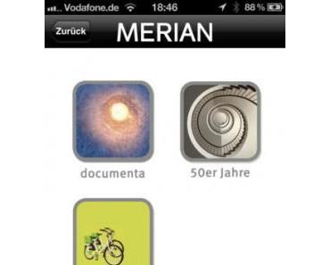 MERIAN Kassel + documenta  –  Stadt- und Ausstellungsführer zur 13. documenta, momentankostenlos