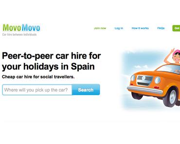 Auto mieten in Spanien: Bei MovoMovo jetzt nach dem AirBnB-Modell