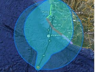 Hurrikan BUD fast Kategorie 3 - jetzt doch Landfall erwartet - Hurrikanwarnung aktiviert