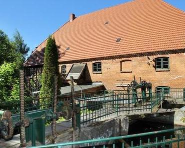 Historische Wassermühle mahlt wieder Korn