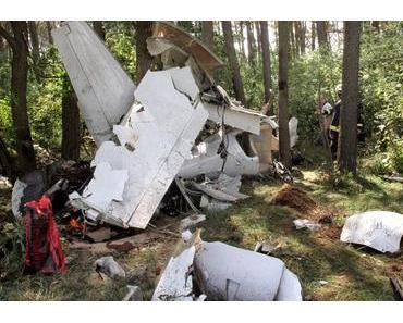 Zwei Tote bei Flugzeugabsturz in Mecklenburg