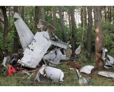 Motorschaden Ursache für Flugzeugabsturz?