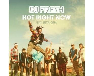 """Der Sommer kommt mit DJ Fresh feat. Rita Oro und """"Hot Right Now"""""""