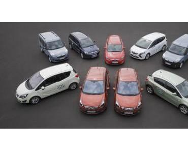 Opel bietet ein breites Angebot an Autogas- und Erdgas-Fahrzeugen