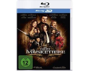 Die drei Musketiere 3D Blu-ray