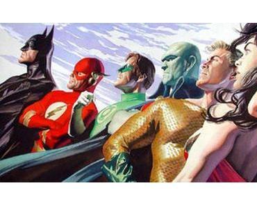 """Justice League"" Entwicklungs-Timeline"