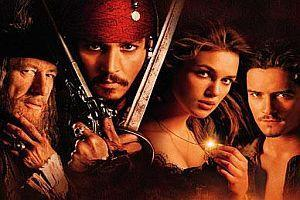 """Fluch der Karibik"" / ""Pirates of the Caribbean: The Curse of the Black Pearl"" [USA 2003]"