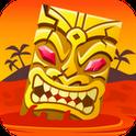 Tiki Lavalawine – Rette die Goldbarren und damit den ganzen Stamm in der kostenlosen Android App