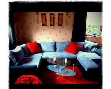 Am Montag kam unsere neue Couch