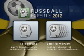 Fussball Experte 2012 – treten Sie an gegen Fußballexperten und beweisen Ihr detailliertesWissen