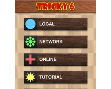 Tricky 6 – strategisches Brettspiel für 2 bis 4 Spieler, momentankostenlos
