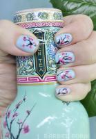 Kirschblüten-Nägel