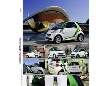 Emissionsfreier Fahrspaß: Goodbye Tankstelle – Start für den neuen smart fortwo electric drive