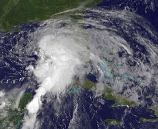 Tropischer Sturm DEBBY am Samstag oder Sonntag wahrscheinlich