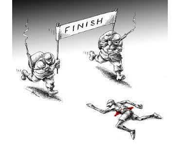 Ziel: Demokratie (Cartoon)
