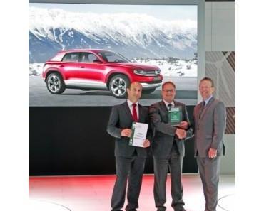 """""""eCar Award 2012"""" für das Cross Coupé von Volkswagen"""