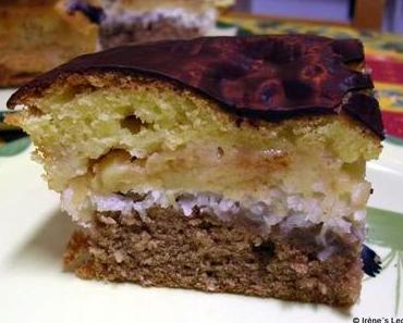 Kokos-Apfel-Kuchen