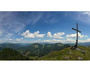Fallenstein (1536m) Wanderung über Schöneben-Höhenreithalm