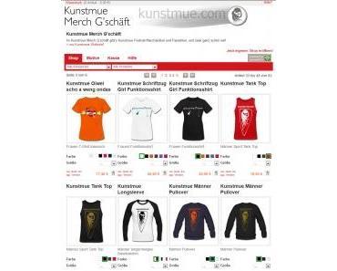 PRESSEMELDUNG: Kunstmue Festival 2012 – elfte Band hinzugefügt, Line-up endgültig komplett; Kunstmue Onlineshop eröffnet!