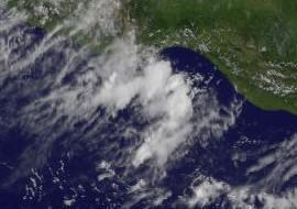 Pazifische Hurrikansaison Mexiko: 96E vor Oaxaca