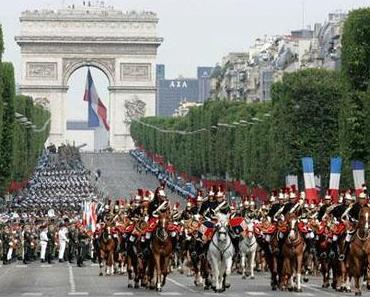 Tag der Bastille oder Fête Nationale