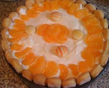 Mandarinen - Philadelphia Torte