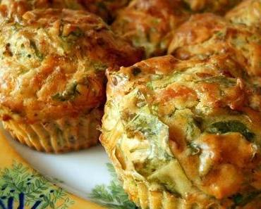 Rucola-Pistazien-Muffins