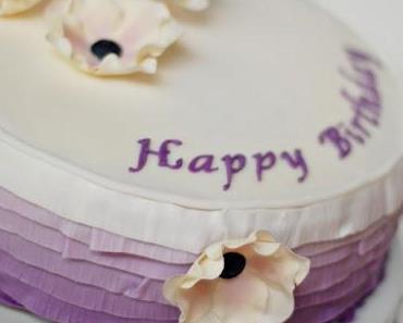 Lila Ombre Torte
