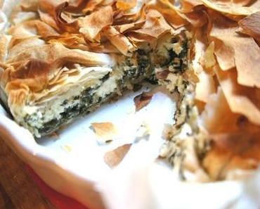 Spinat-Feta-Pastete oder Cheesy Spinch-Pie