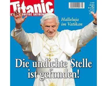 Papst: Wenn die personifizierte Beleidigung sich beleidigt fühlt...(Wer beleidigt wen?)