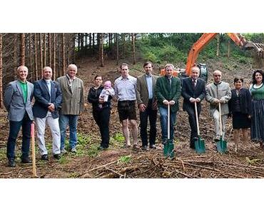 Spatenstich für das Biomasse-Fernheizwerk Mariazell