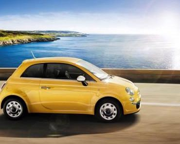 """Fiat 500 feiert Geburtstag und bietet ein Sondermodell """"Happy Birthday"""""""