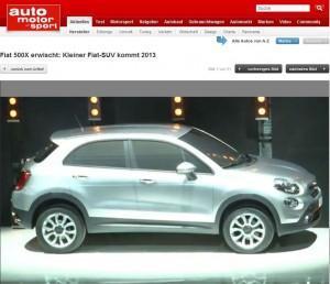 Fiat 500X: Das etwas andere SUV kommt 2013