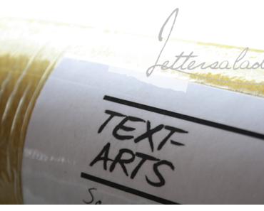 Buchtext-Poster von Text-Arts