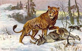 Deutschland war im Eiszeitalter ein Paradies für Löwen