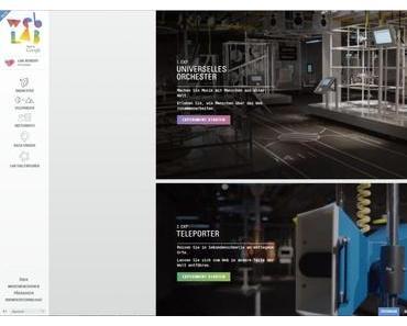 Chrome WebLab – Google's virtuelles Museum