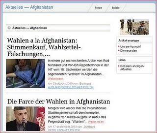 Afghanistan-Dossier auf dem Paperblog-Portal