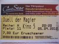 Duell der Magier (05.09.2010)