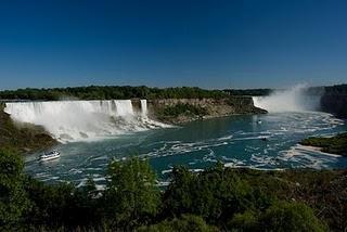 der Schock an den Niagara Faellen!
