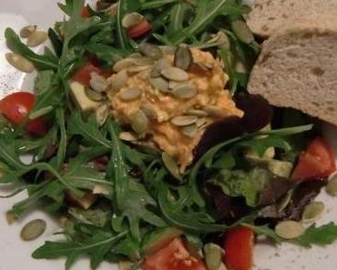 Leckerer Herbst-Rohkost-Salat