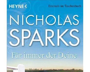 [Rezension] Nicholas Sparks, Für immer der Deine