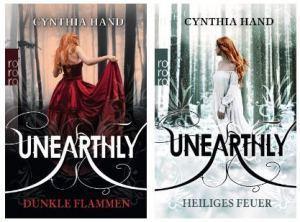 Aktion zur Unearthly-Trilogie von Cynthia Hand