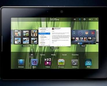 BlackBerry PlayBook 4G LTE kommt am 31. Juli