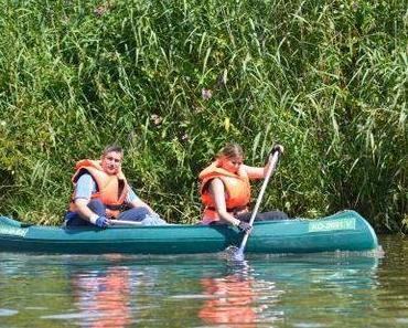 kanu & camping tour auf der lahn