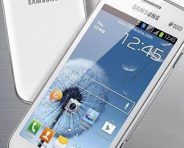 Galaxy S Duos: neuer Androide von Samsung mit Dual-SIM