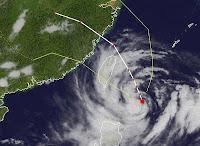 Liveticker Taifun SAOLA (GENER) Taiwan und Region Schanghai