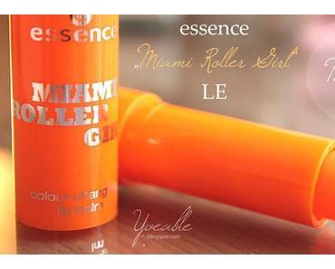 """colour changing lip balm """"Miami Heat"""" aus der """"Miami Roller Girl"""" LE von essence"""